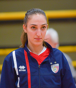 In maglia Volley Team Orvieto Sharon Garganese