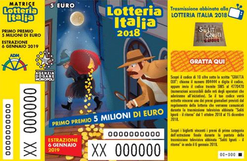 Lotteria Italia 2018. Venduto a Fabro il quinto premio. Tutti gli altri estratti