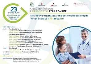Sanità in Umbria: nascono le Aggregazioni Funzionali Territoriali