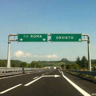 A1, chiusura notturna del casello di Orvieto per lavori