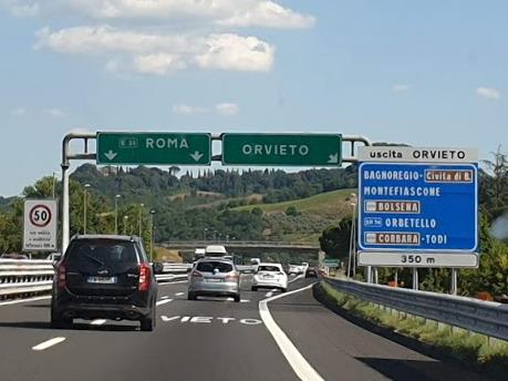 A1, tratto Fabro-Orvieto chiuso per lavori per due notti 6-7 agosto