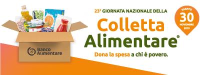 Sabato 30 appuntamento con la Colletta Alimentare a sostegno dei più indigenti
