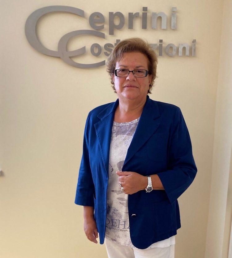 Patrizia Ceprini, presidente Confindustria Umbria Sezione di Orvieto