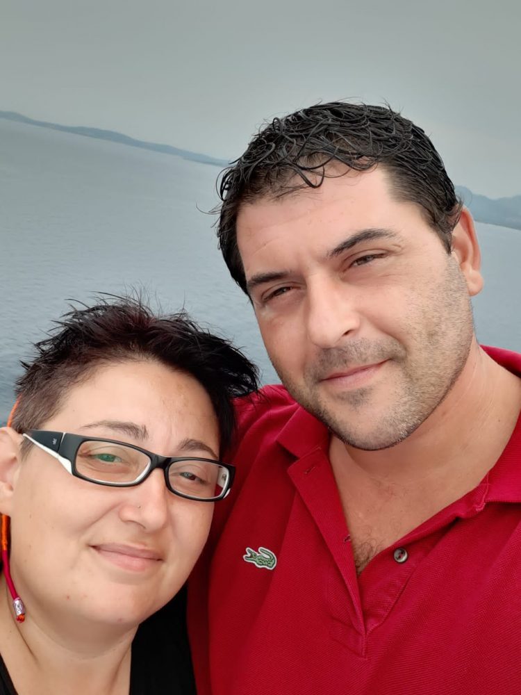 Stefano Cossu e Michela Taddei