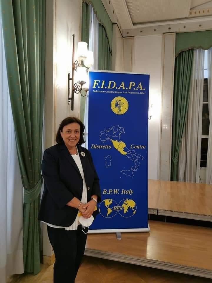 Anna Maria Turchetti - neopresidente del distretto centro FIDAPA-BPW